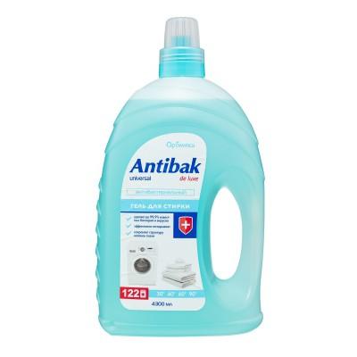 Антибактериальный гель для стирки Antibak de luxe Universal