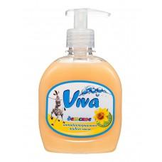 Детское антибактериальное жидкое мыло Viva с экстрактом череды