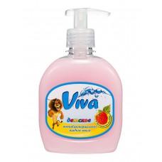 Детское антибактериальное жидкое мыло Viva с экстрактом малины